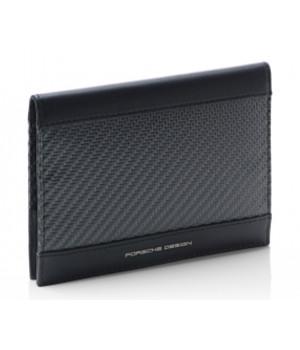 Бумажник CARBON PASSPORT HOLDER черный